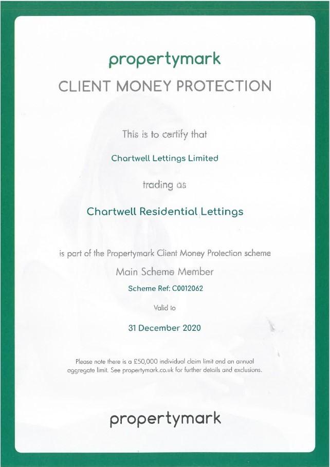 propertymark certificate